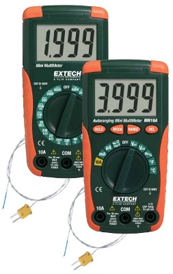 Extech Instruments MN15A - Kompakt Mini Multimetre